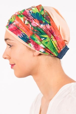 pack_chimiotherapie_bonnet_bandeau_chimio_tropical_palmiers