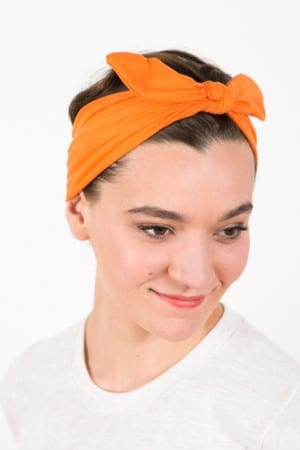 bandeau_a_cheveux_elastique_bunny_orange_2