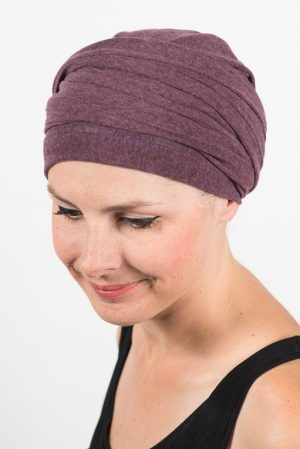 foudre_turban_chimio_pelade_maille_violet