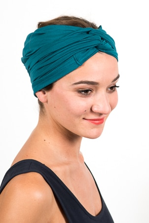 bandeau_a_cheveux_turbans_large_elastique_emeraude