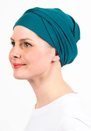 turban_chimiotherapie_elastique_emeraude_2
