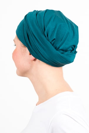 turban_chimiotherapie_elastique_emeraude_3