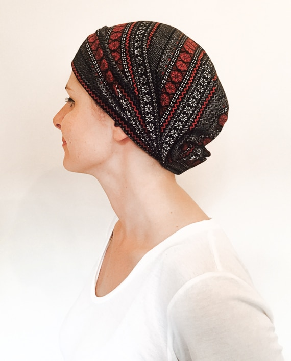 foudre_turbans_chimiotherapie_bandeau_scratch_chaud_neige_rouge