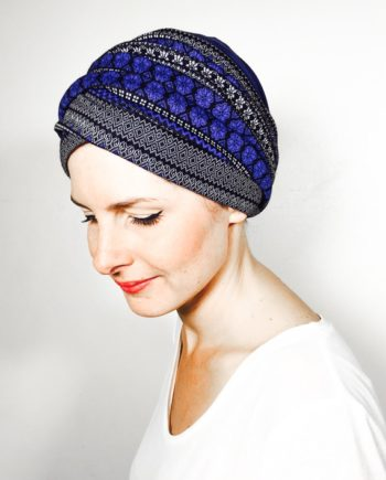 foudre_turbans_chimiotherapie_ensemble_volume_bandeaux_chaud_scratch_neige_bleu
