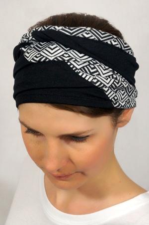 foudre-bandeaux-cheveux-bicolore-losange-1