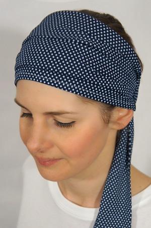 foudre-bandeaux-cheveux-pois-bleu-1