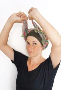 Foudre | Comment nouer son Mégaband en turban