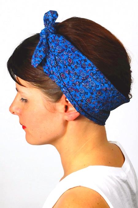 bandana_cheveux_foudre_tissu_floral_liberty_bleu