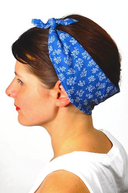 bandana_cheveux_foudre_tissu_liberty_bleu