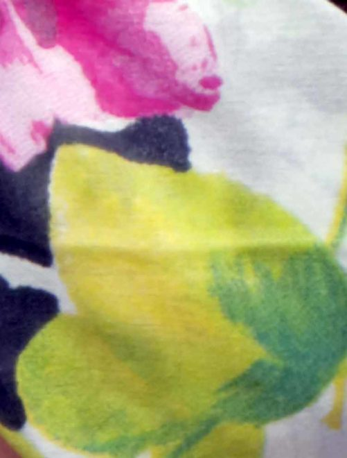Bandana à cheveux à fleurs multicolore - Caraïbes