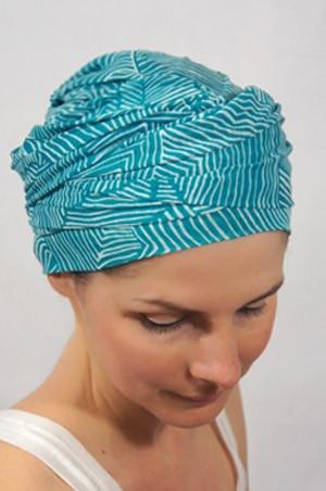 foudre-turbans-chimiotherapie-motif-lagon-bleu-4
