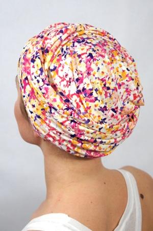 foudre-turbans-motif-rose-jaune-2