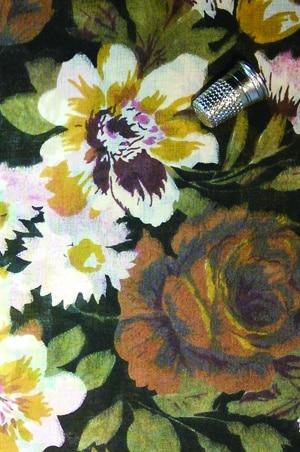 foudre-tissu-bandana-fleurs-automne