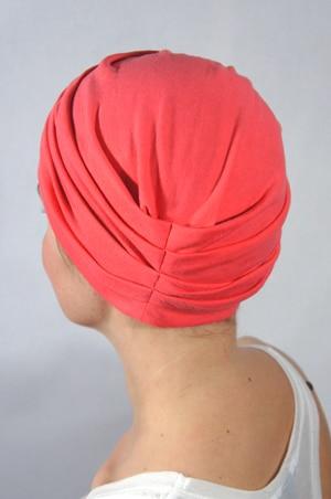 foudre-bonnet-chimiotherapie-rose-corail-2