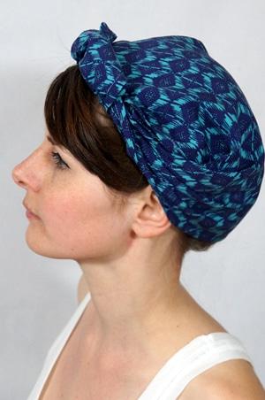 foudre-bandana-cheveux-bleu-azur-2