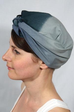 foudre-bandana-cheveux-bleu-gris
