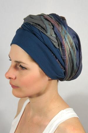 foudre-bandeaux-foulard-chimiotherapie-carreaux-2