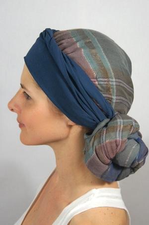 foudre-bandeaux-foulard-chimiotherapie-carreaux-3