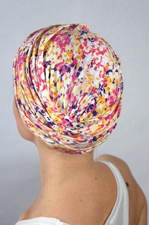 foudre-bonnet-chimiotherapie-rose-jaune-cristal-2