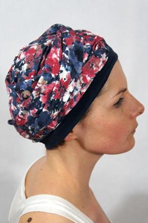 foudre-turbans-motif-fleurs-rouge-bleu-1