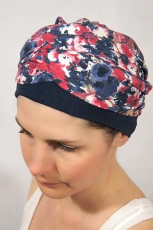 foudre-turbans-motif-fleurs-rouge-bleu-3