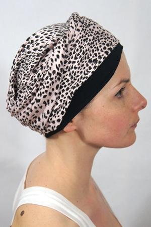 foudre-turbans-motif-léopard-fauve
