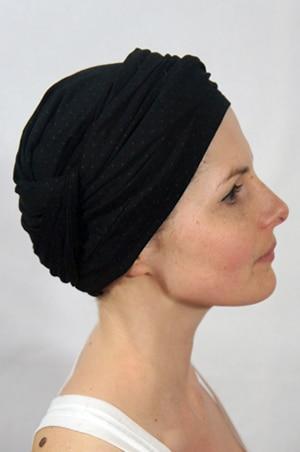 foudre-turbans-motif-pois-gris-noir-1