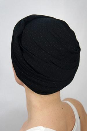 foudre-turbans-motif-pois-gris-noir-2