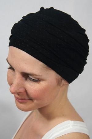 foudre-turbans-motif-pois-gris-noir-3