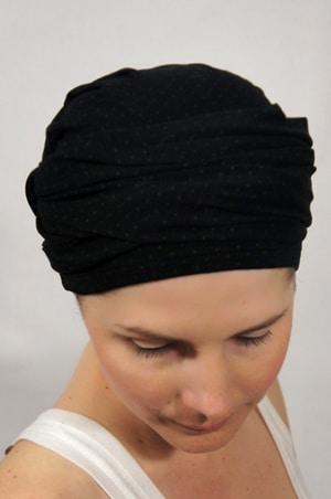 foudre-turbans-motif-pois-gris-noir-4