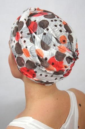 foudre-turbans-motif-pop-corail-2