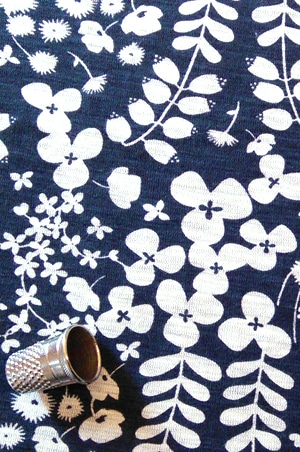 foudre-turbans-motif-fleurs-bleu-5