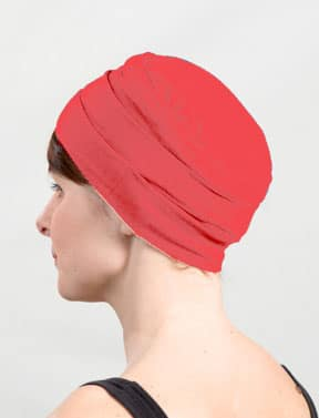 Bonnet pour chimiothérapie pas cher rose corail
