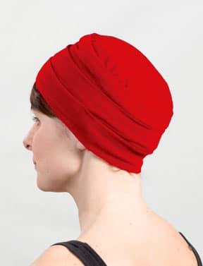 Bonnet pour chimiothérapie pas cher rouge