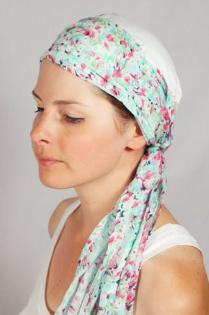 bonnet-foulard-chimiotherapie-foudre-marron-vert-2