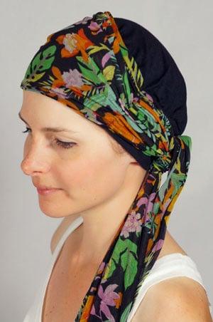 bonnet-foulard-chimiotherapie-noir-tropical-1