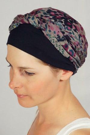 bandeau-foulard-chimiotherapie-noir-violet