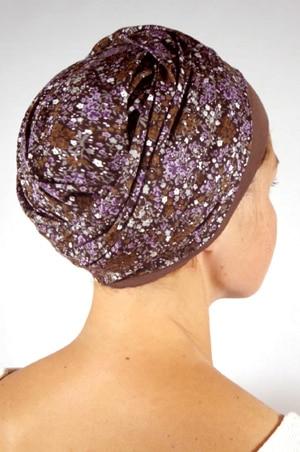 foudre-turban-chimiotherapie-liberty-violet