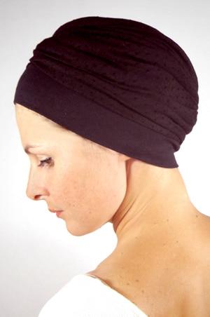 foudre-turban-chimiotherapie-plumetis-noir