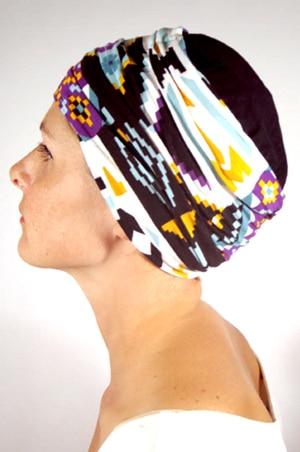 foudre-turban-plisse-chimio-azteque-4