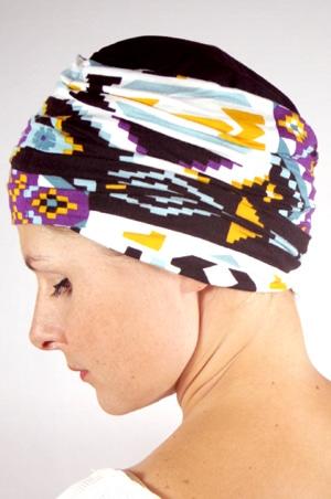 foudre-turban-plisse-chimio-azteque