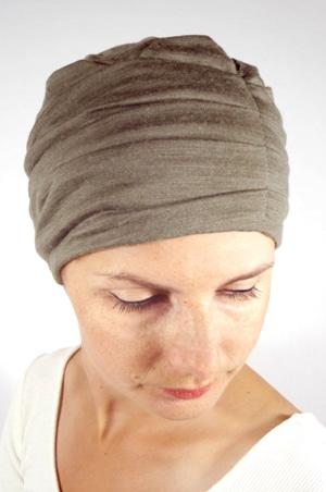 foudre-turban-plisse-chimio-maille-kaki-3