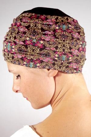 foudre-turban-plisse-chimio-oriental