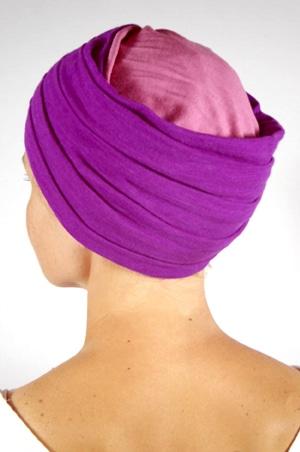 foudre-turban-plisse-chimio-rose-vi