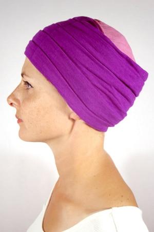 foudre-turban-plisse-chimio-rose-vi2