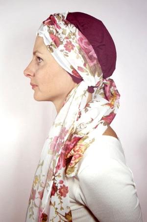 foudre-bonnet-turban-foulard-chimiotherapie-pelade-roses-1