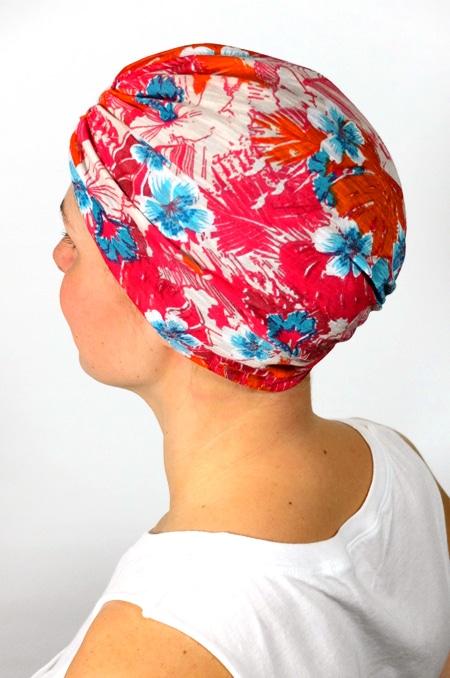 bonnet_chimiotherapie_foudre_fleurs_hawaienne_3