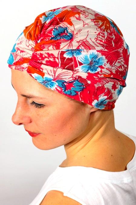 bonnet_chimiotherapie_foudre_fleurs_hawaienne_2