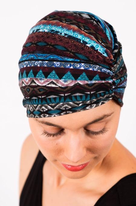 bonnet_chimiotherapie_foudre_graphique_bleu_magda2