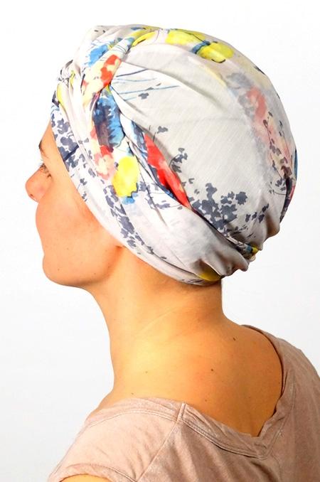 foulard_chimiotherapie_foudre_blanc_fleurs_pastel_melb3